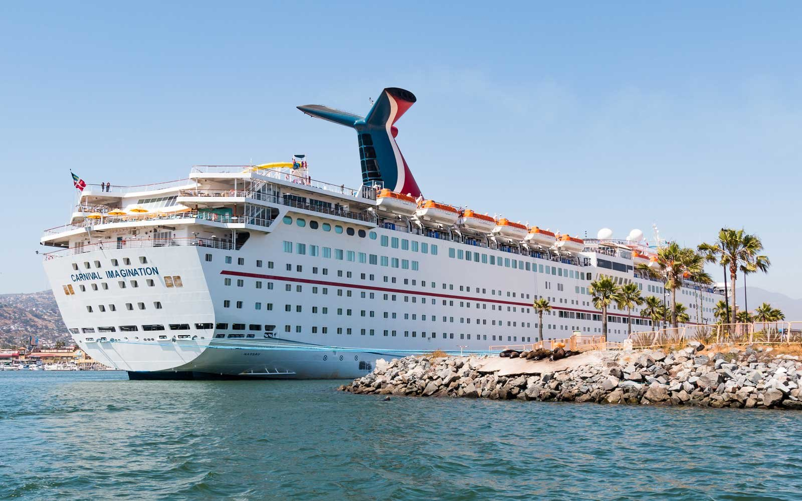 Carnival Cruise Ship Imagination in port