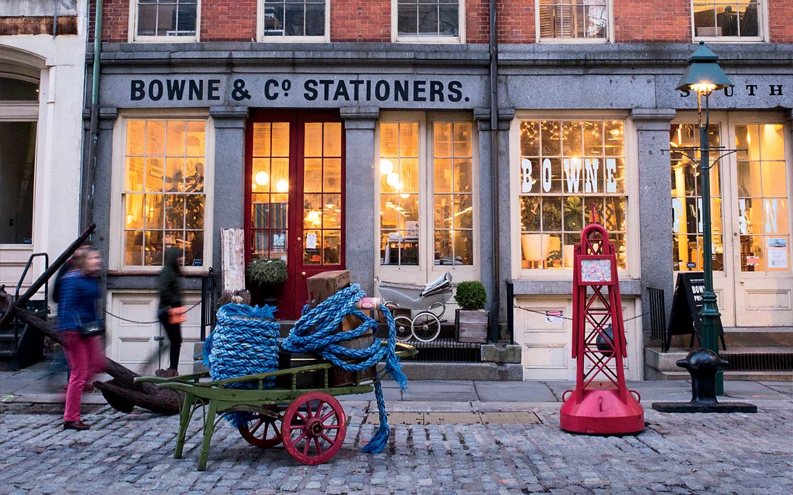 Bowen & Co. Stationers, at New York's South Street Seaport