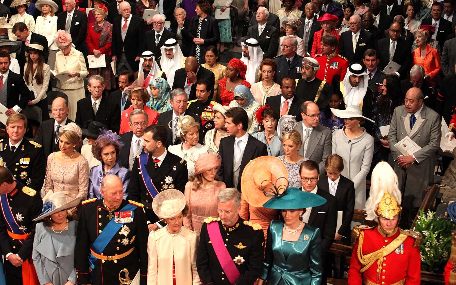 Wedding Guests at Prince William's Wedding to Kate Middleton