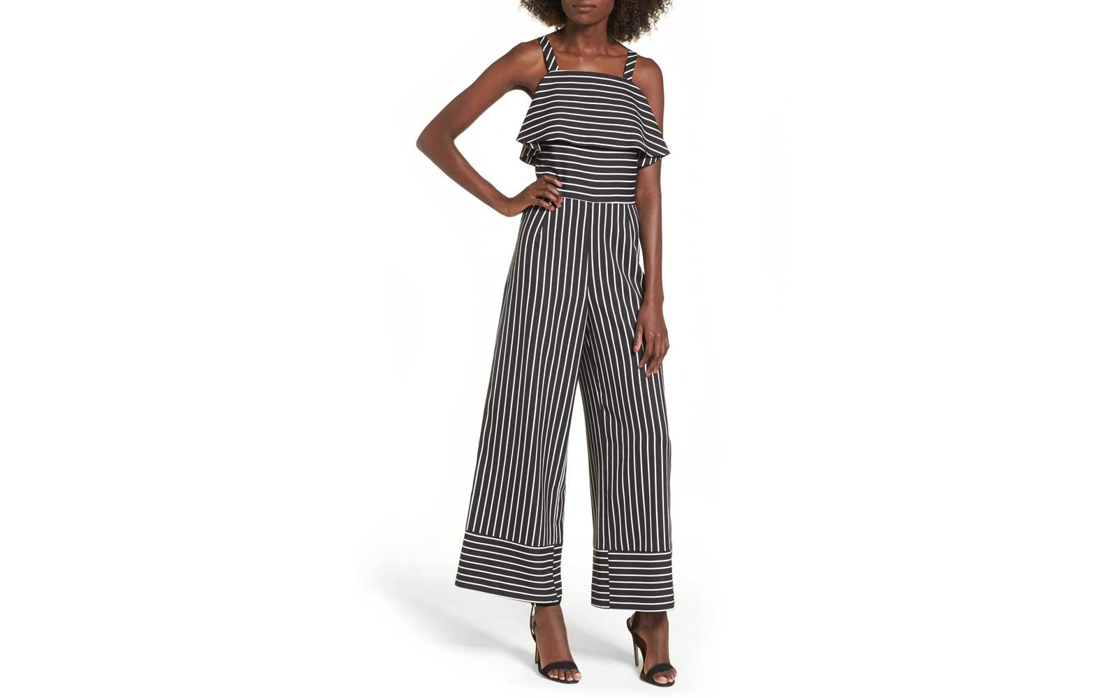 0eecac18f9d Leith Striped Jumpsuit. leith cute jumpsuits rompers