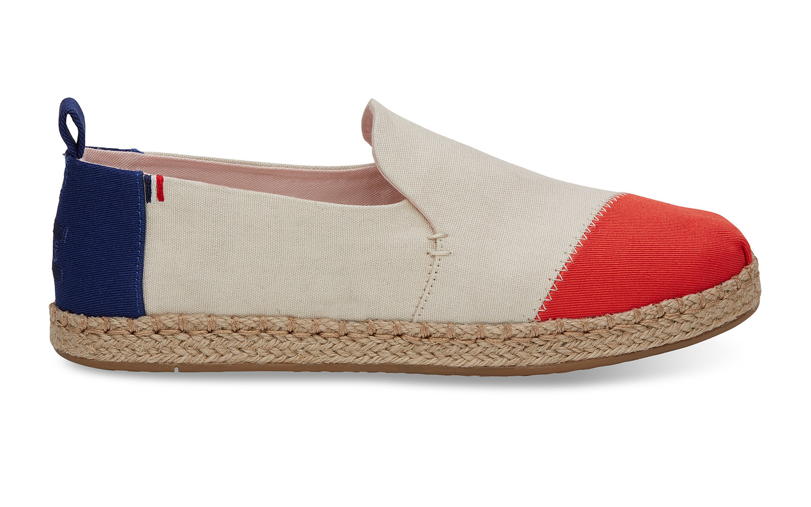 Clare V. Color Block Canvas Women's Deconstructed Alpargatas