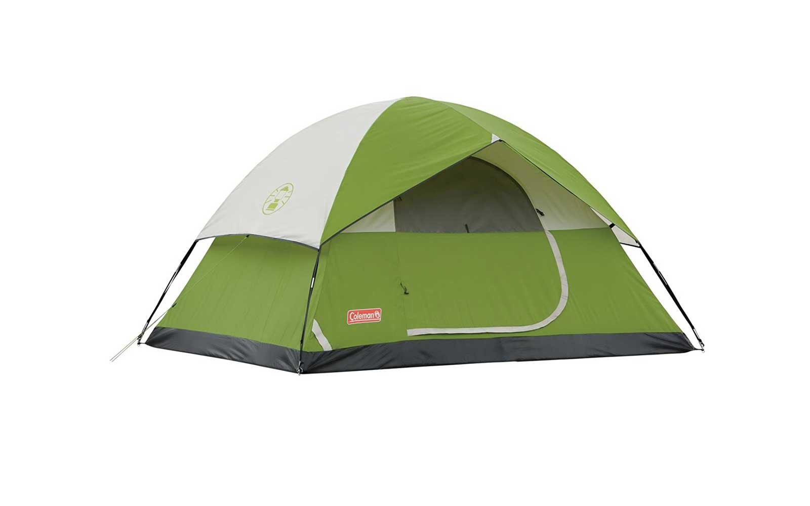 Car-camping Tent: Coleman 'Sundome' 4-person Tent