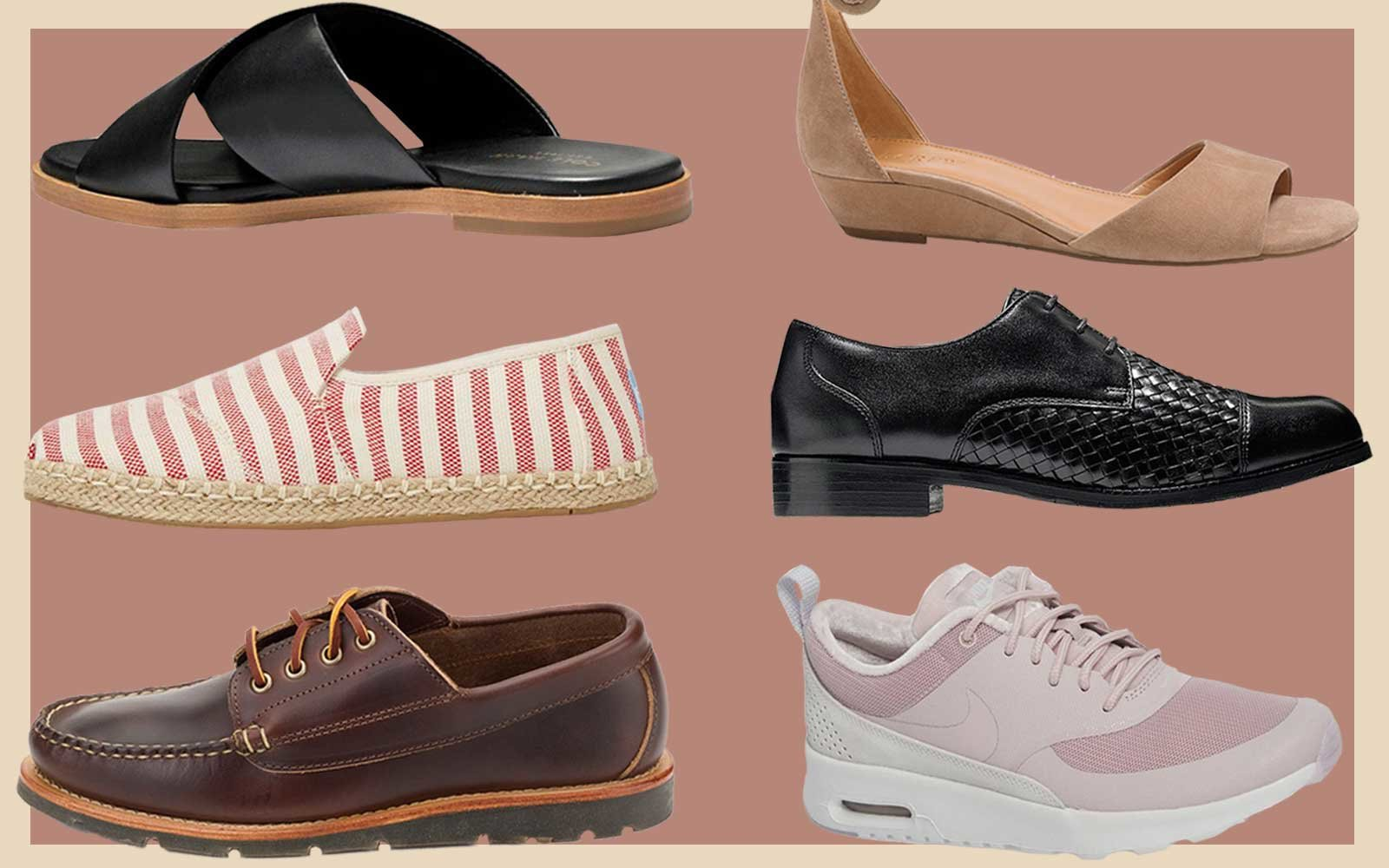 23 Pairs of Travel Shoes Travel + Leisure Editors Always Pack