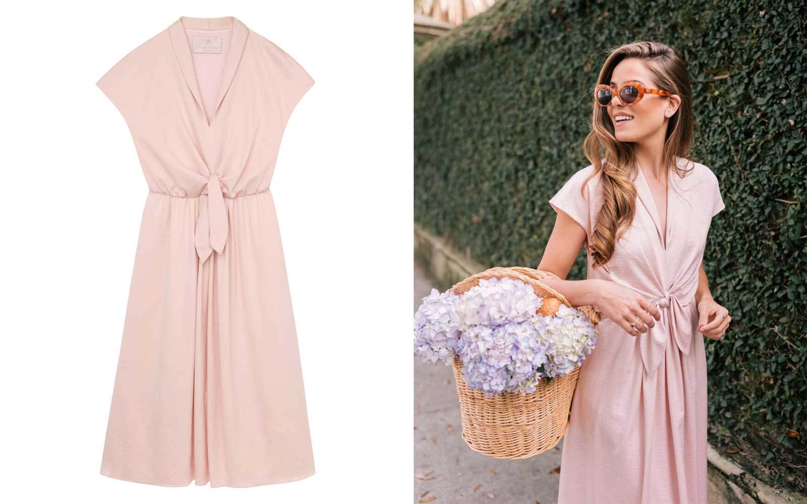 gal meets glam collection blush dress