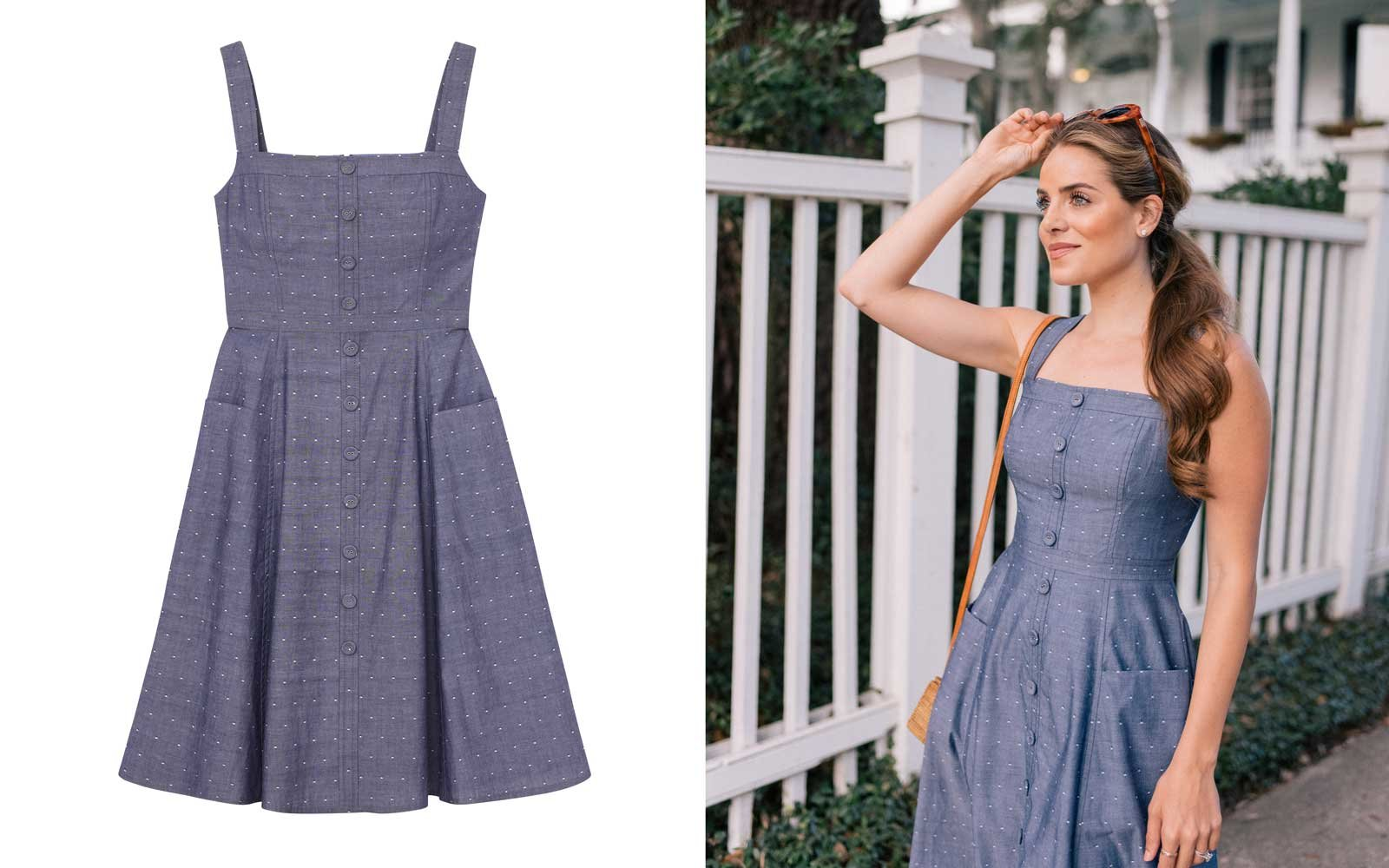 gal meets glam collection denim dress