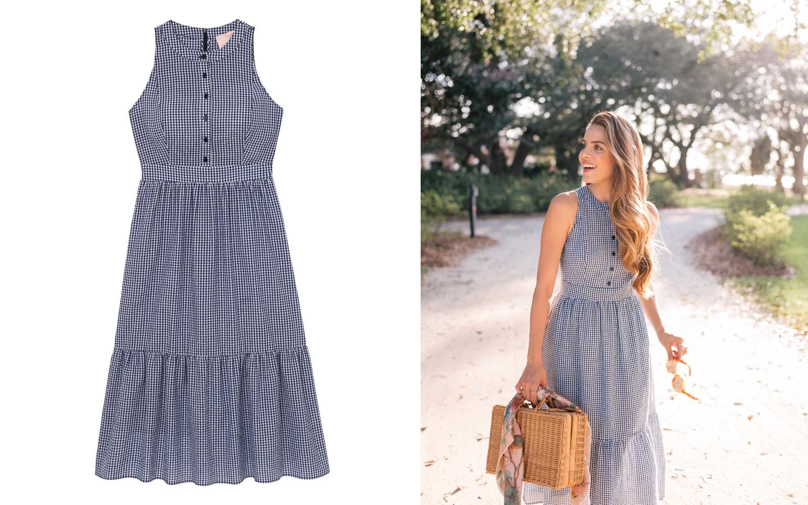 gal meets glam collection gingham dress