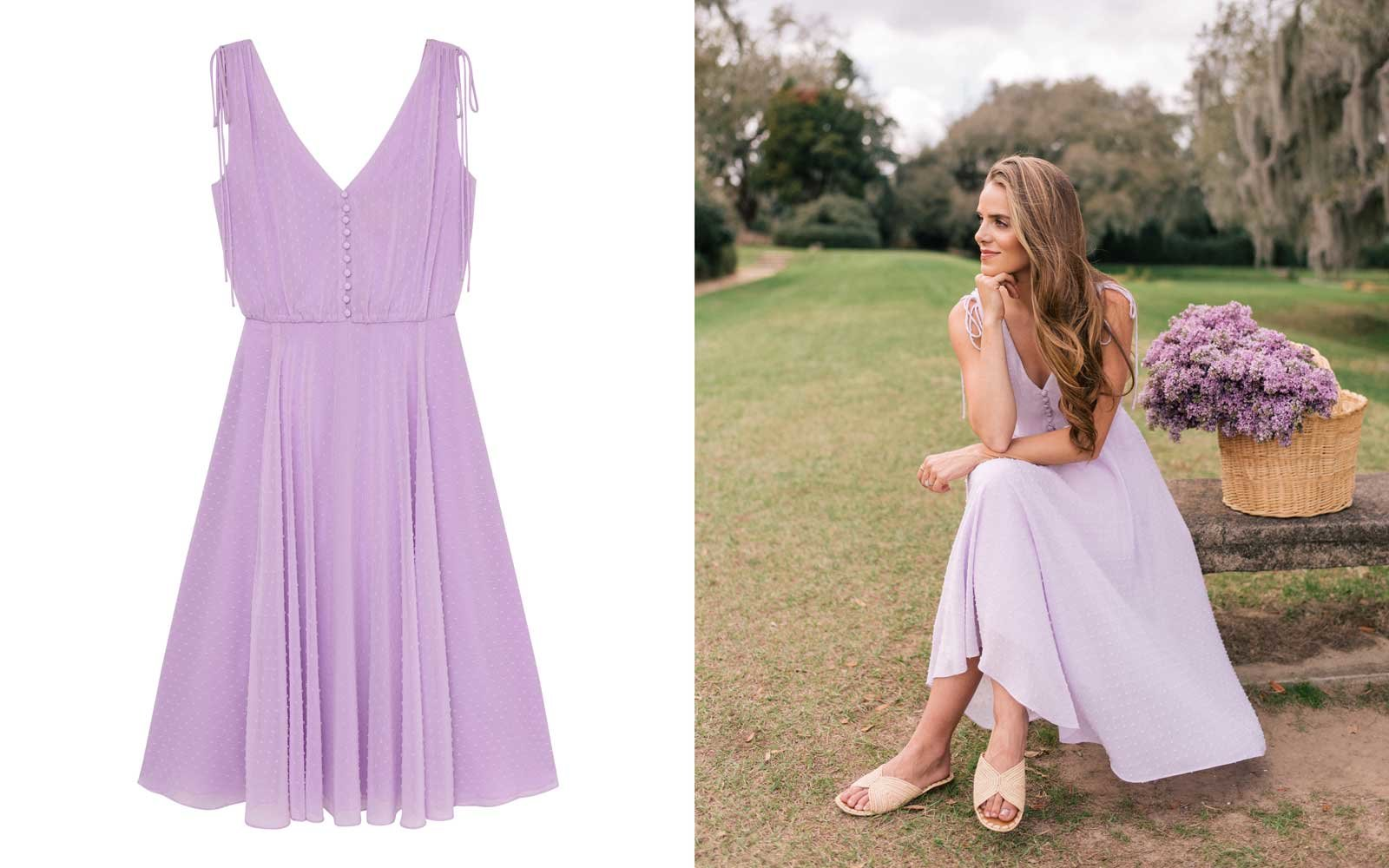 gal meets glam collection lilac dress