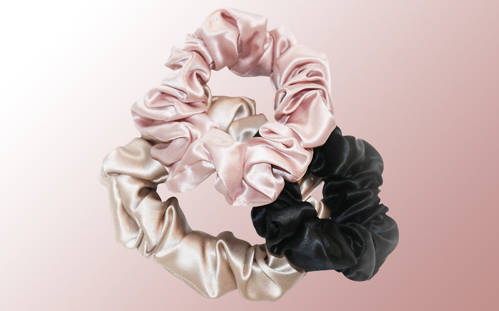 Slip For Beauty Sleep 3-Pack Slipsilk Hair Ties