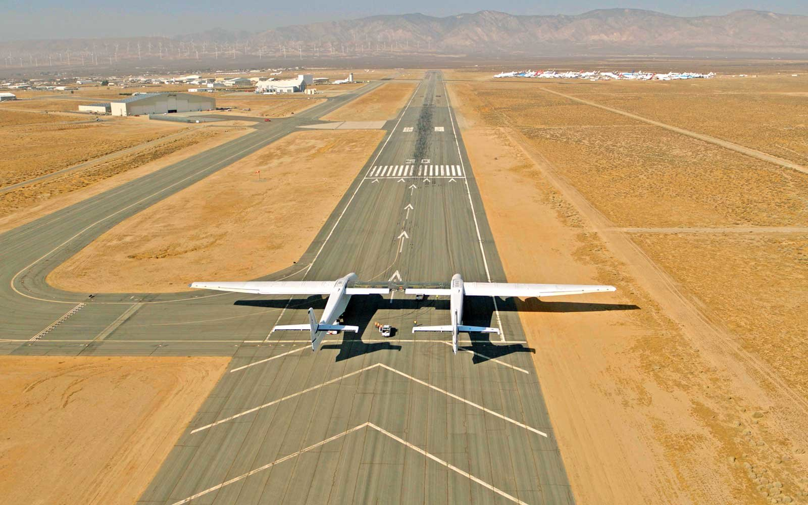 Stratolaunch airplane - world's largest