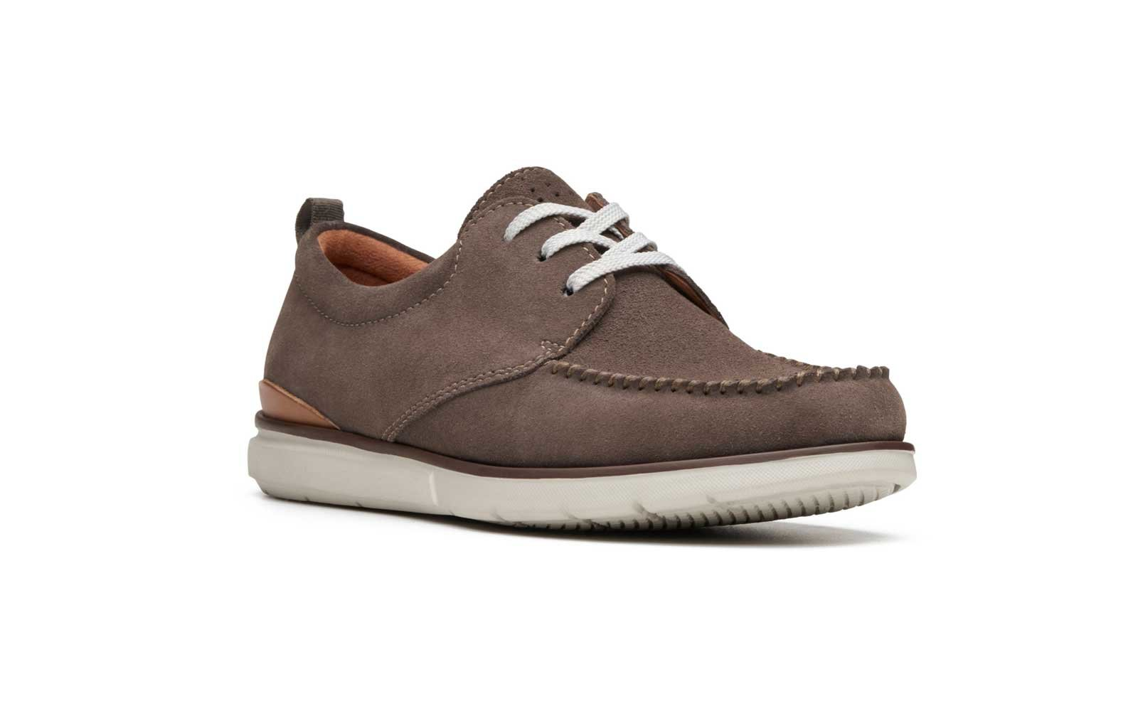 c5e63993e292 Clarks  Edgewood Mix  Suede Sneakers. clarks dress tennis shoes