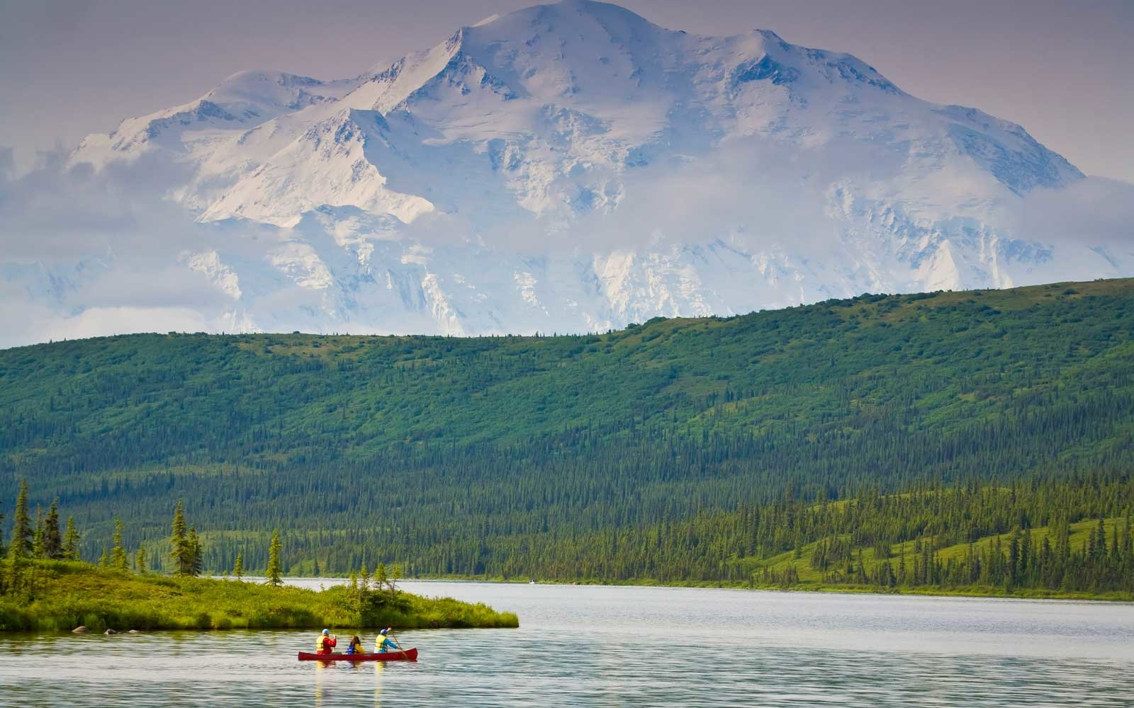 Denali National Park, Alaska During Summer