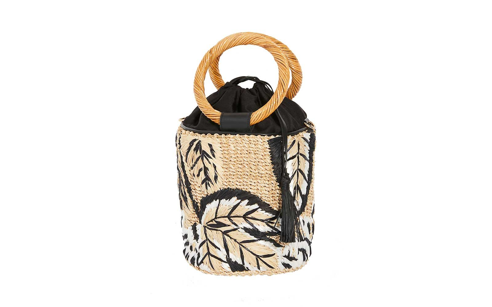 free people straw bag