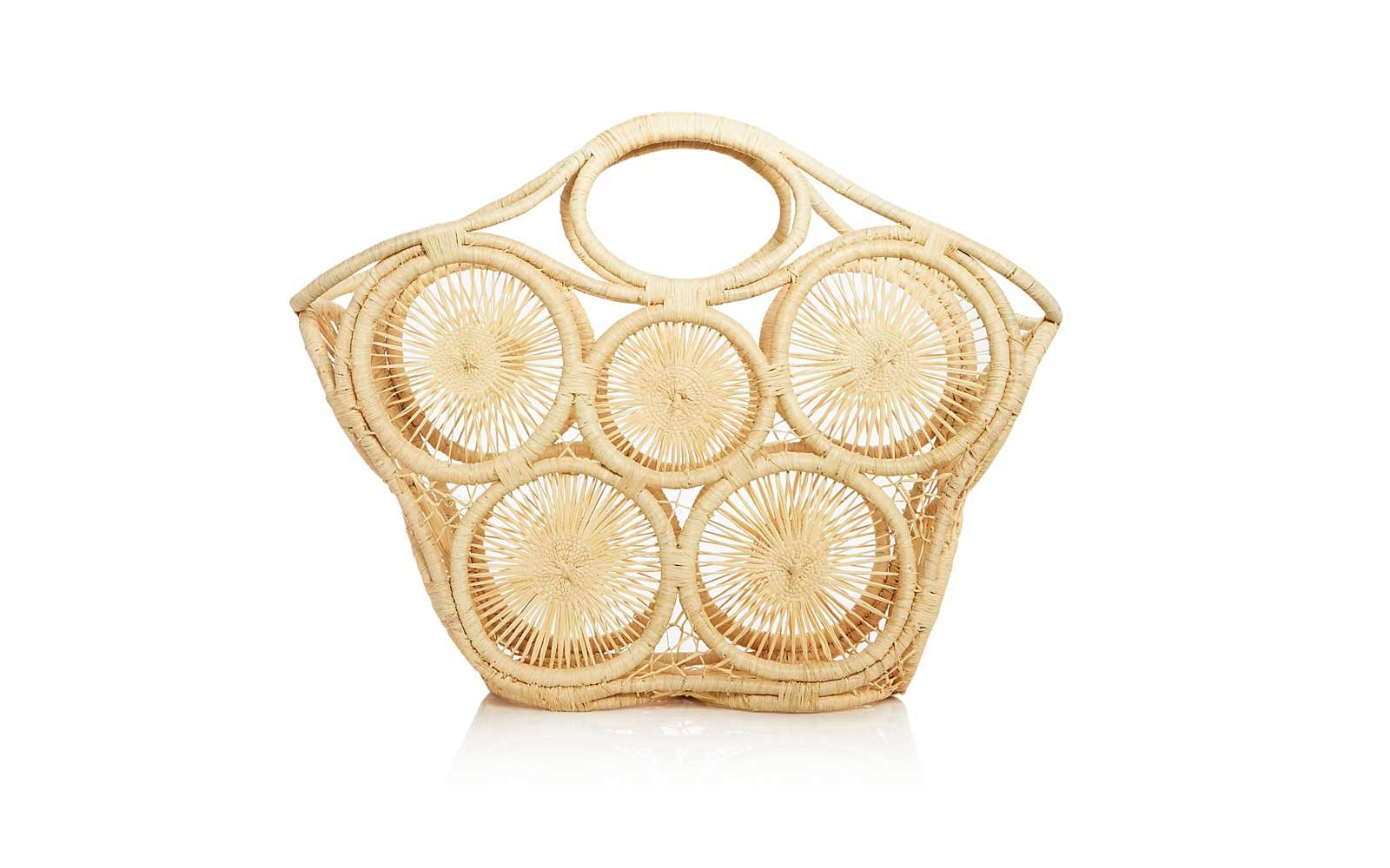 mar y sol straw bag