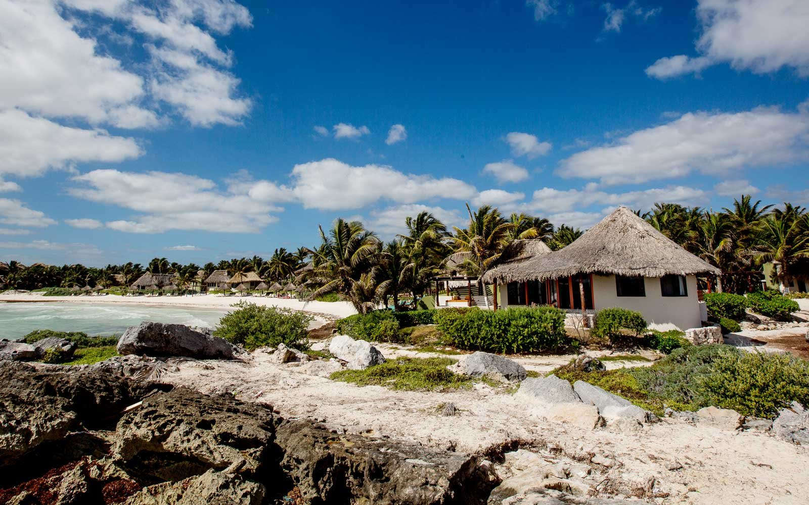 Exterior of the Maya Tulum resort