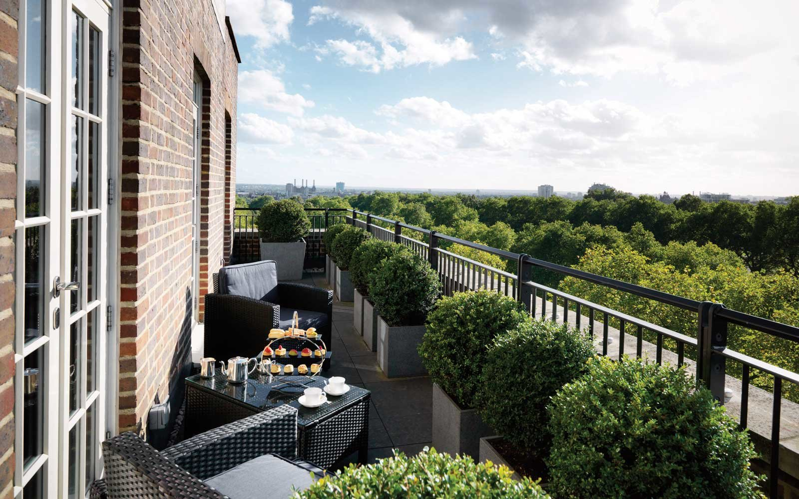 Grosvenor House Apartments by Jumeirah Living - Knightsbridge Penthouse - Balcony