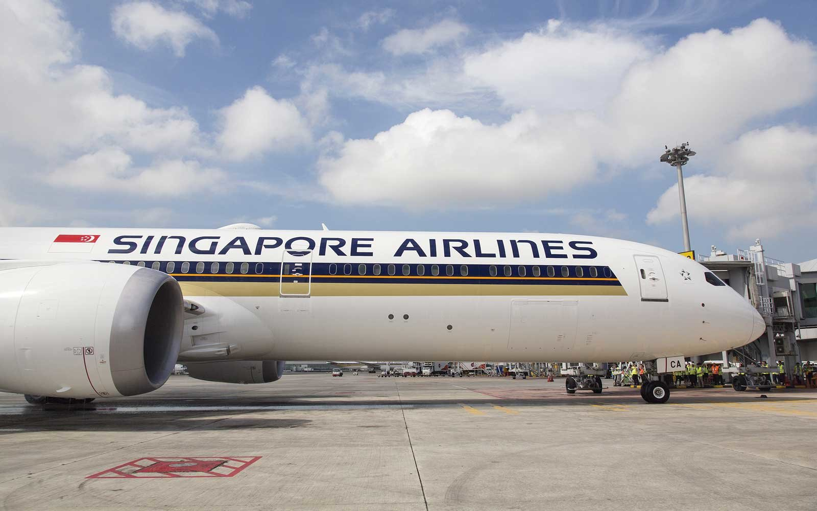 Singapore Airlines' New Boeing 787-10