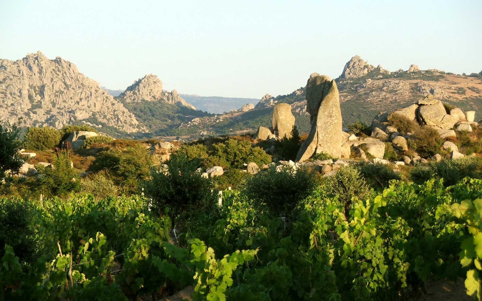 The Valley Of The Moon  - an amazing landscape on the Italian island of Sardinia