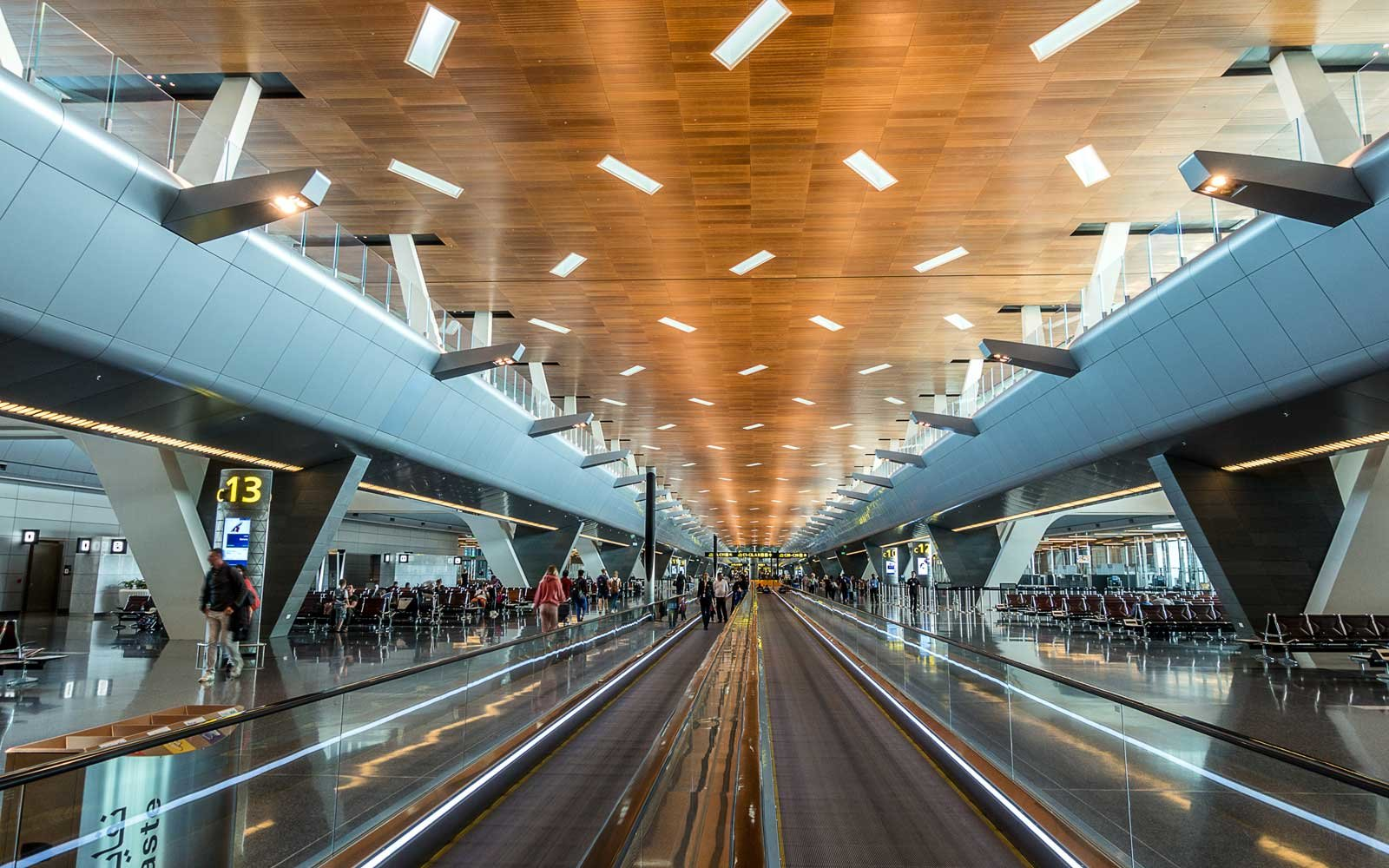 Hamad International Airport in Doha, Qatar