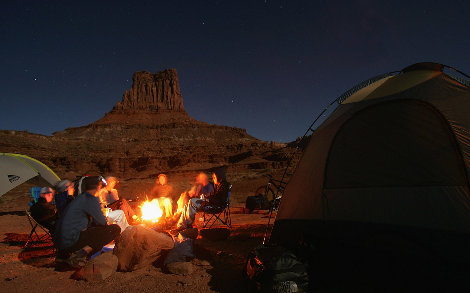 Canyonlands, Utah, White Rim Trail, Stargazing