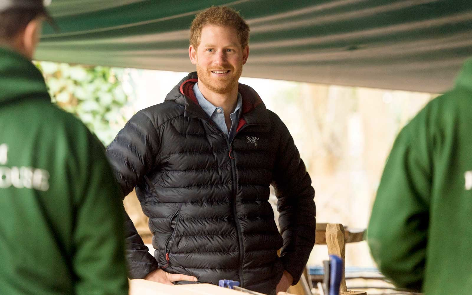 Prince Harry Visits The Help For Heroes Hidden Wounds Service, January 2017