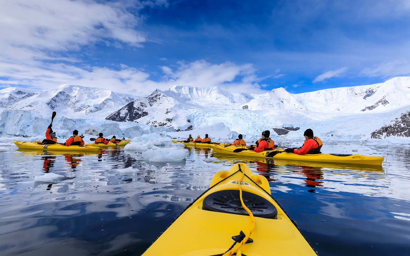 Antarctica Kayak Winter Adventure