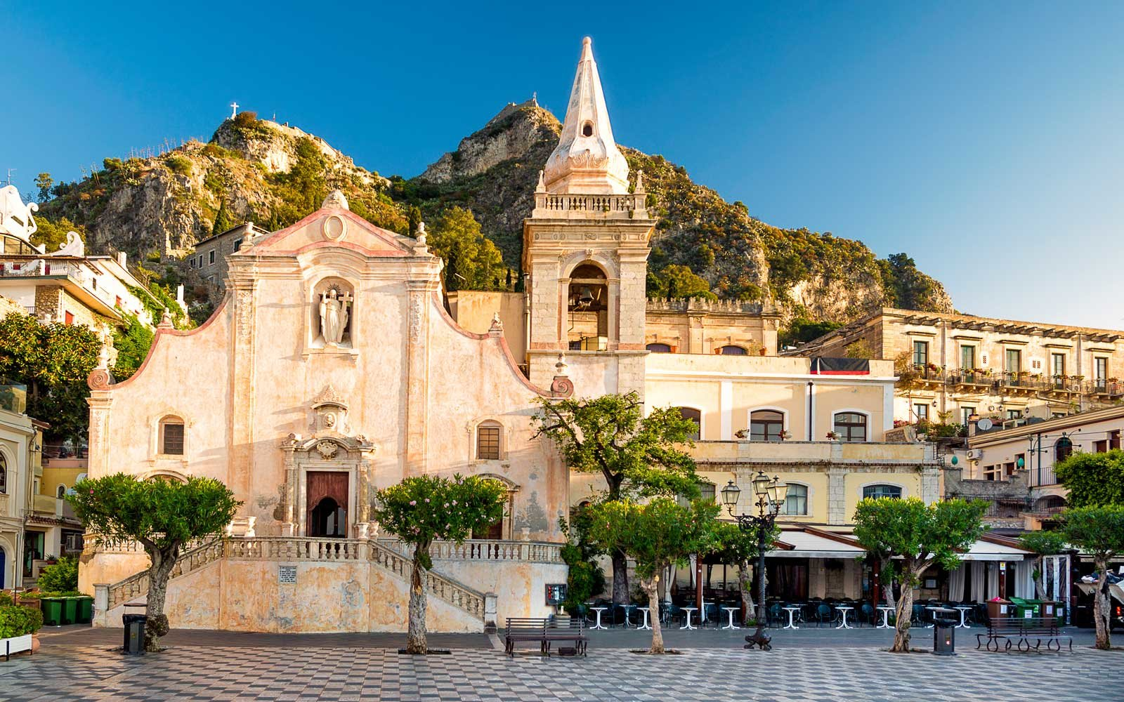 Church of San Giuseppe in Taormina, Sicily