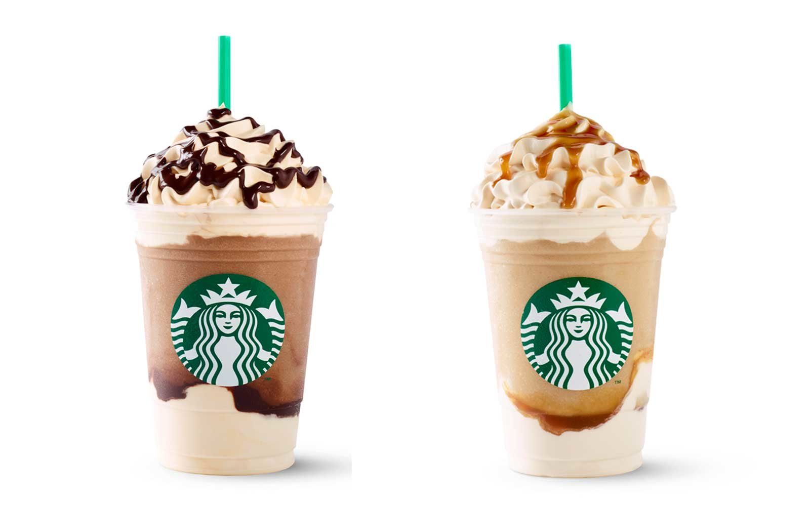 New Starbucks Frappuccinos