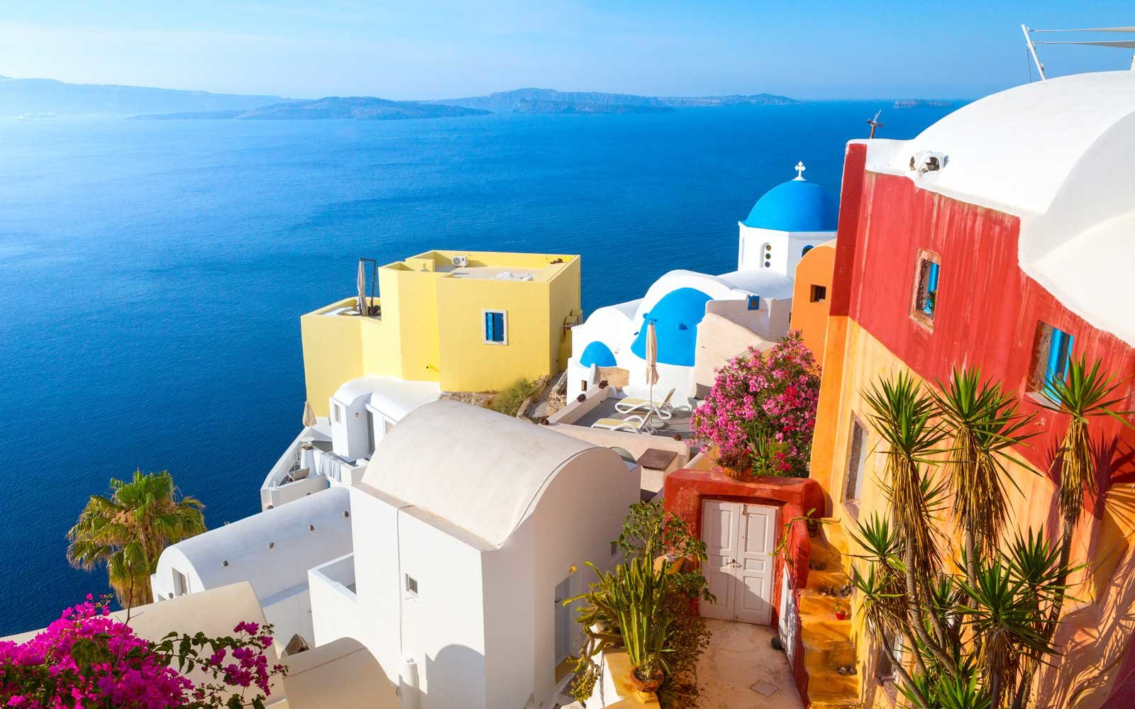 4. Santorini, Greece