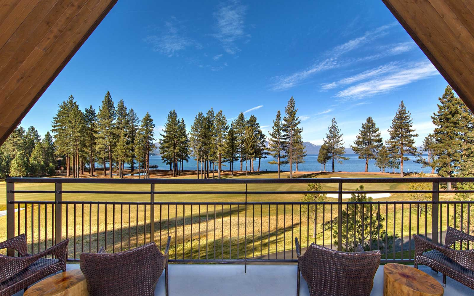 View from The Lodge at Edgewood Tahoe
