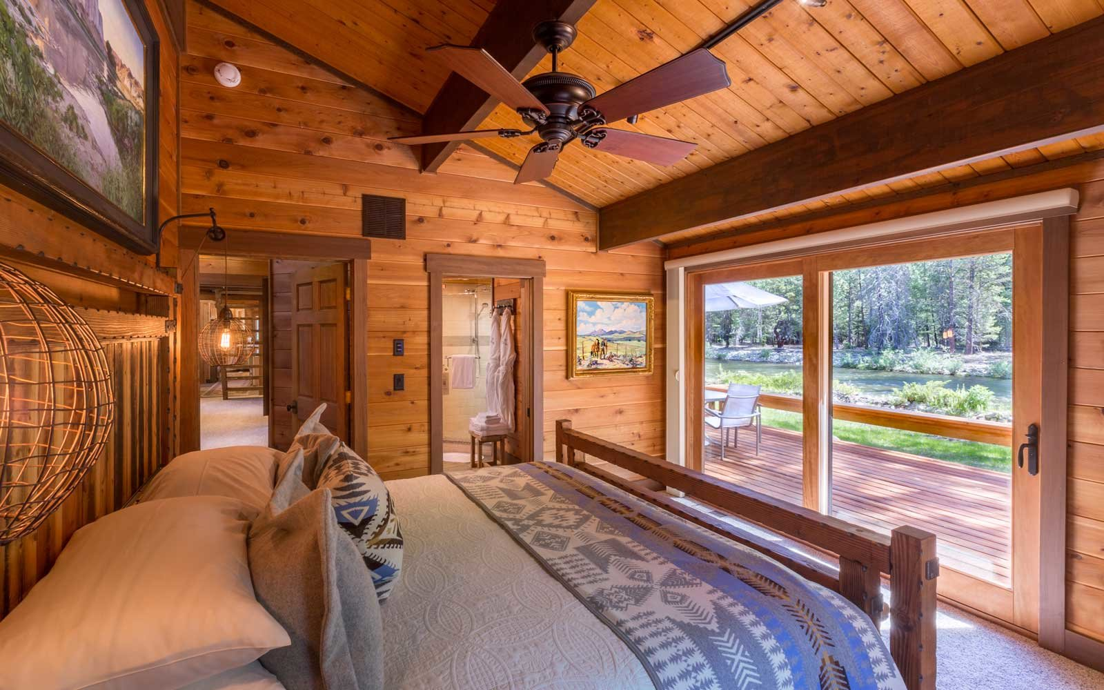 Room with a view at Triple Creek Ranch in Montana