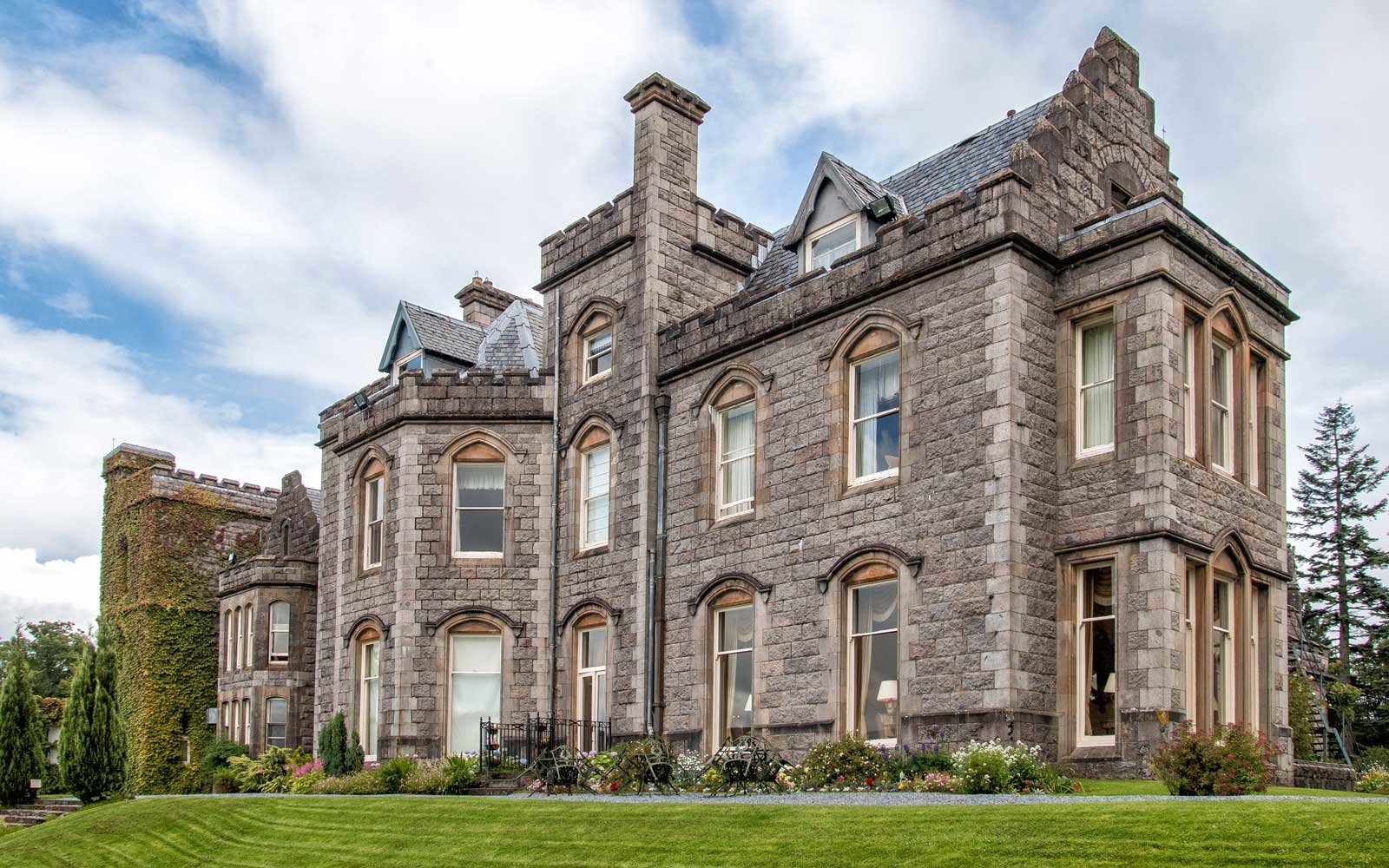 Exterior of Inverlochy Castle
