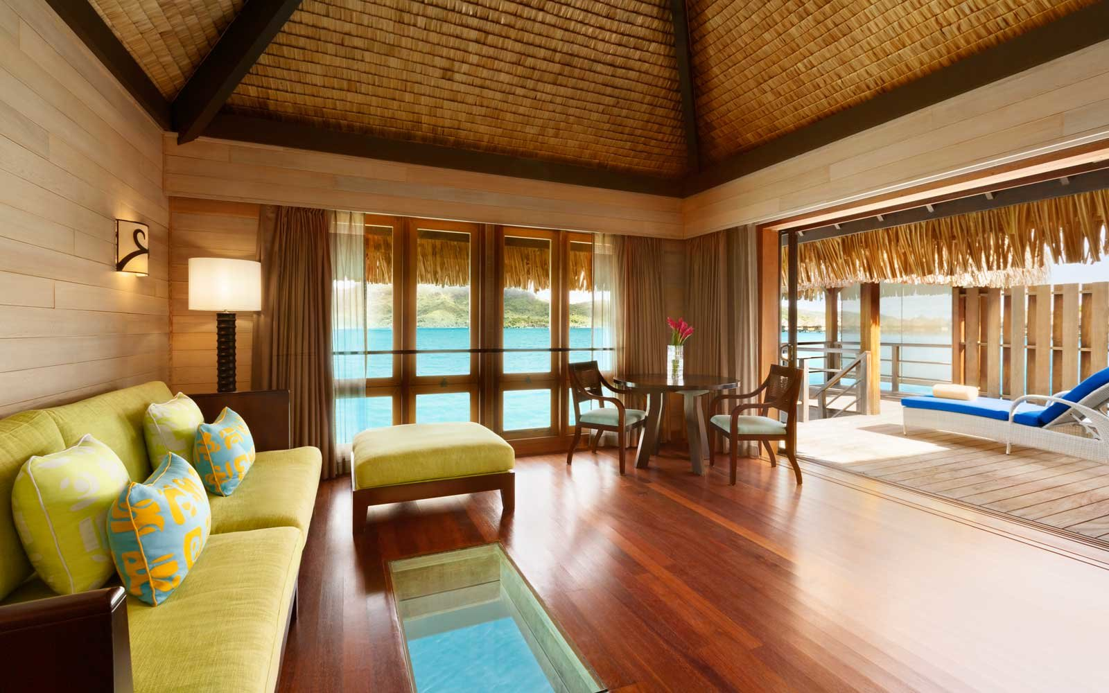 room at the St Regis Bora Bora