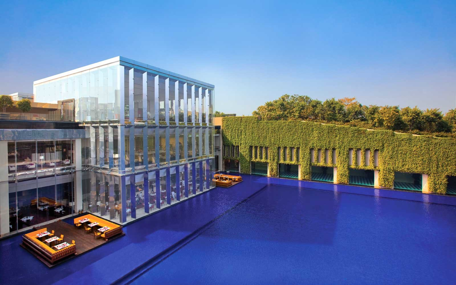Exterior view of the Oberoi Gurgaon