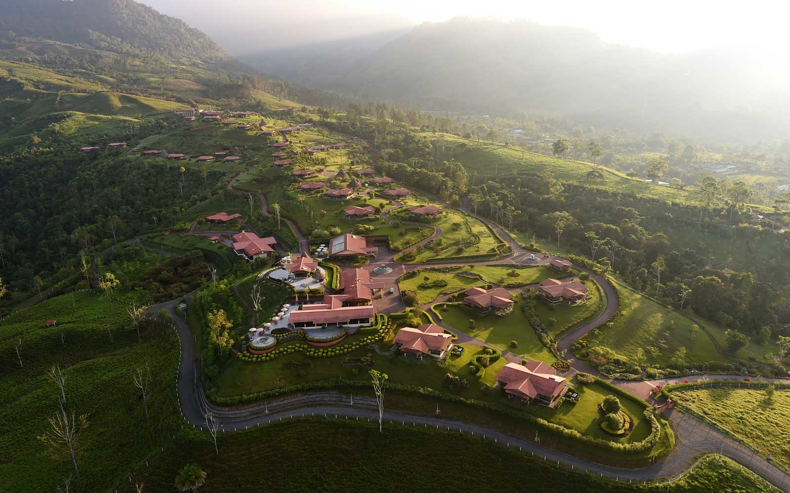 Overview of the Hacienda AltaGracia, an Auberge resort