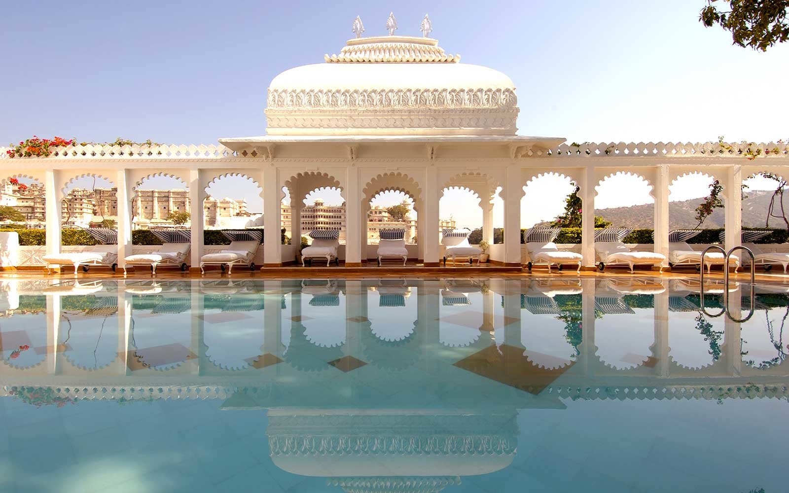 Pool at the Taj Lake Palace