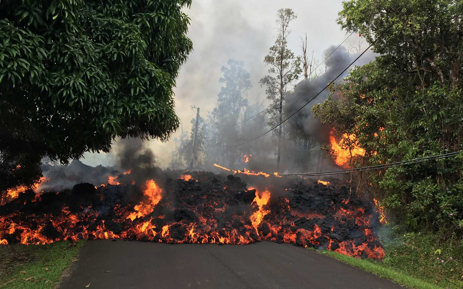 Photos And Videos Show The Incredible Destruction From The Kilauea Volcano Eruption Travel