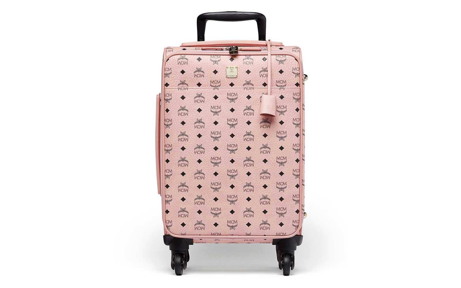 MCM Voyager Visetos Travel Trolley Carry-on