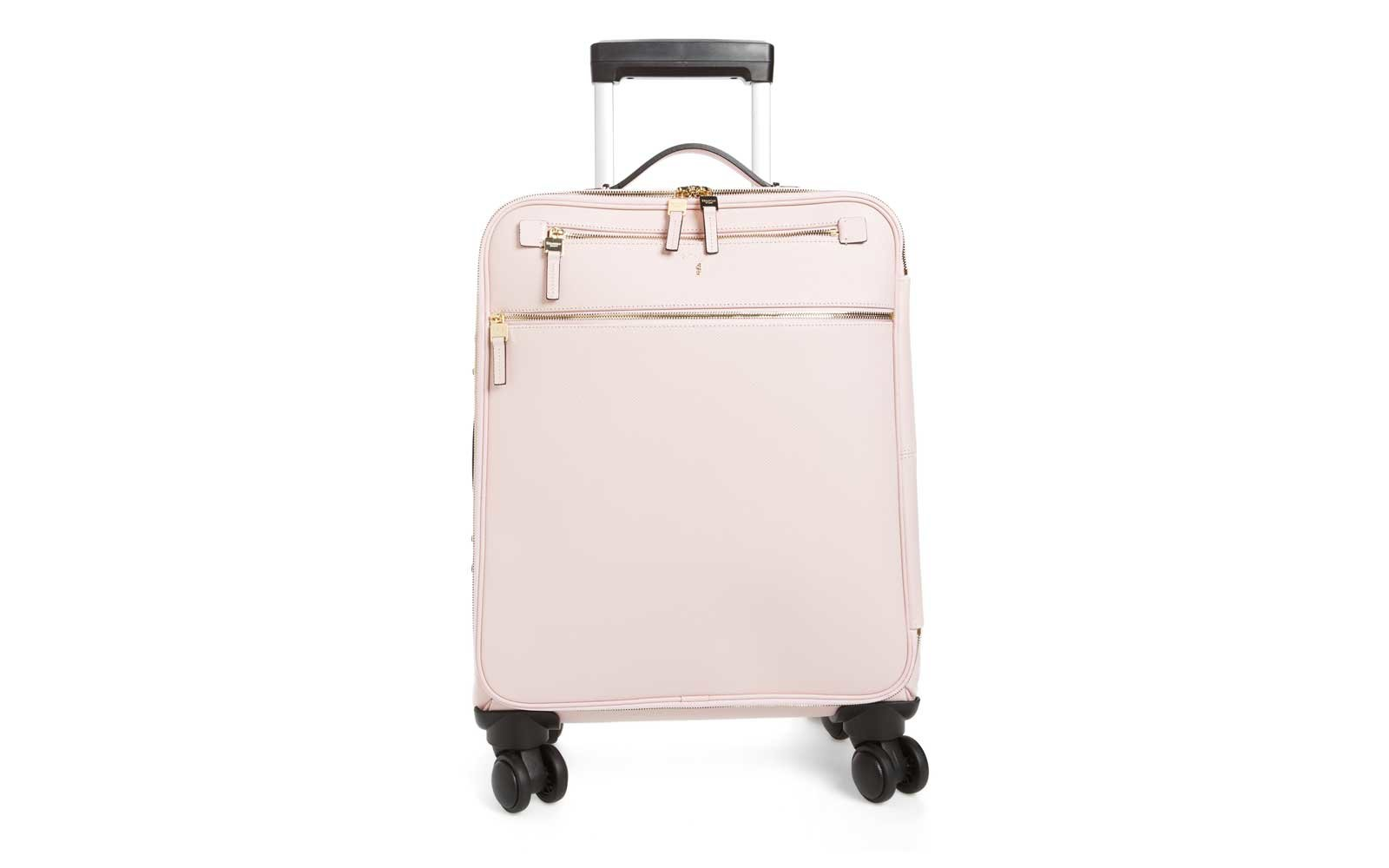 Serapian Milano Trolley Spinner Wheeled Carry-on in quartz