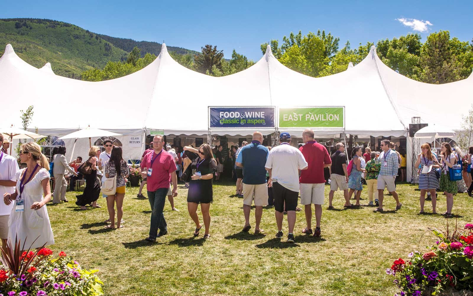 Top Chefs Attend Food & Wine Classic in Aspen, Colorado