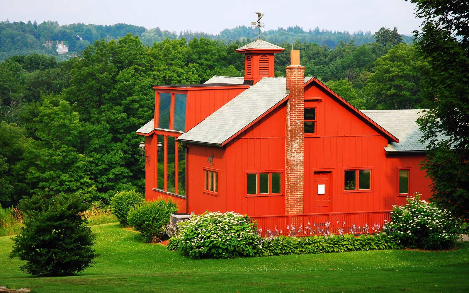 The Norman Rockwell's Studio in the Berkshire Mountains of Massachusetts
