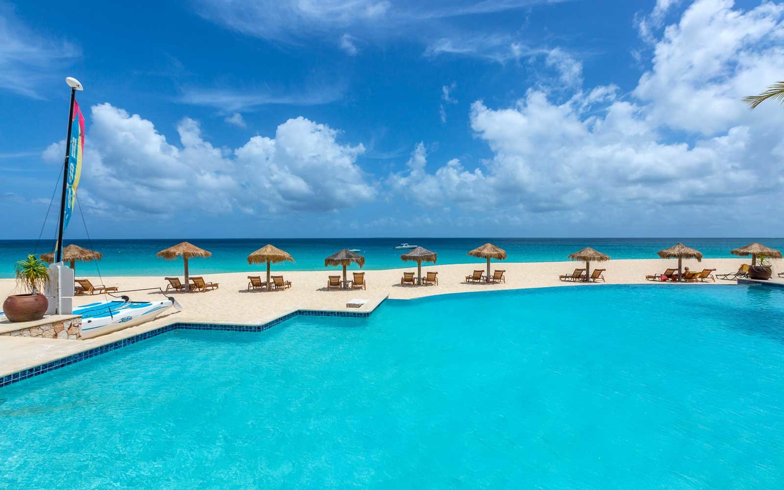 1. Frangipani Beach Resort, Anguilla