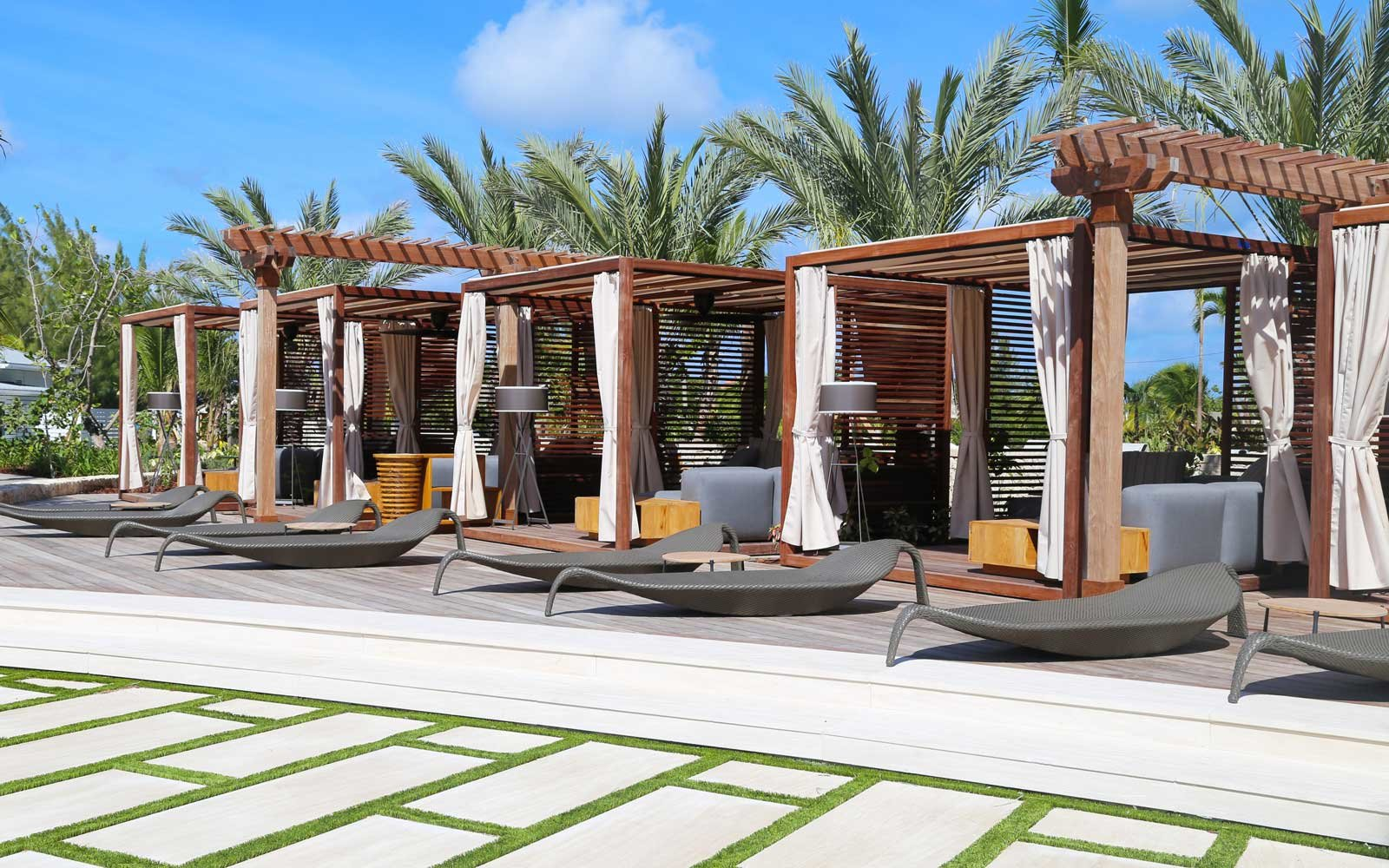Cabanas at the Kimpton Seafire