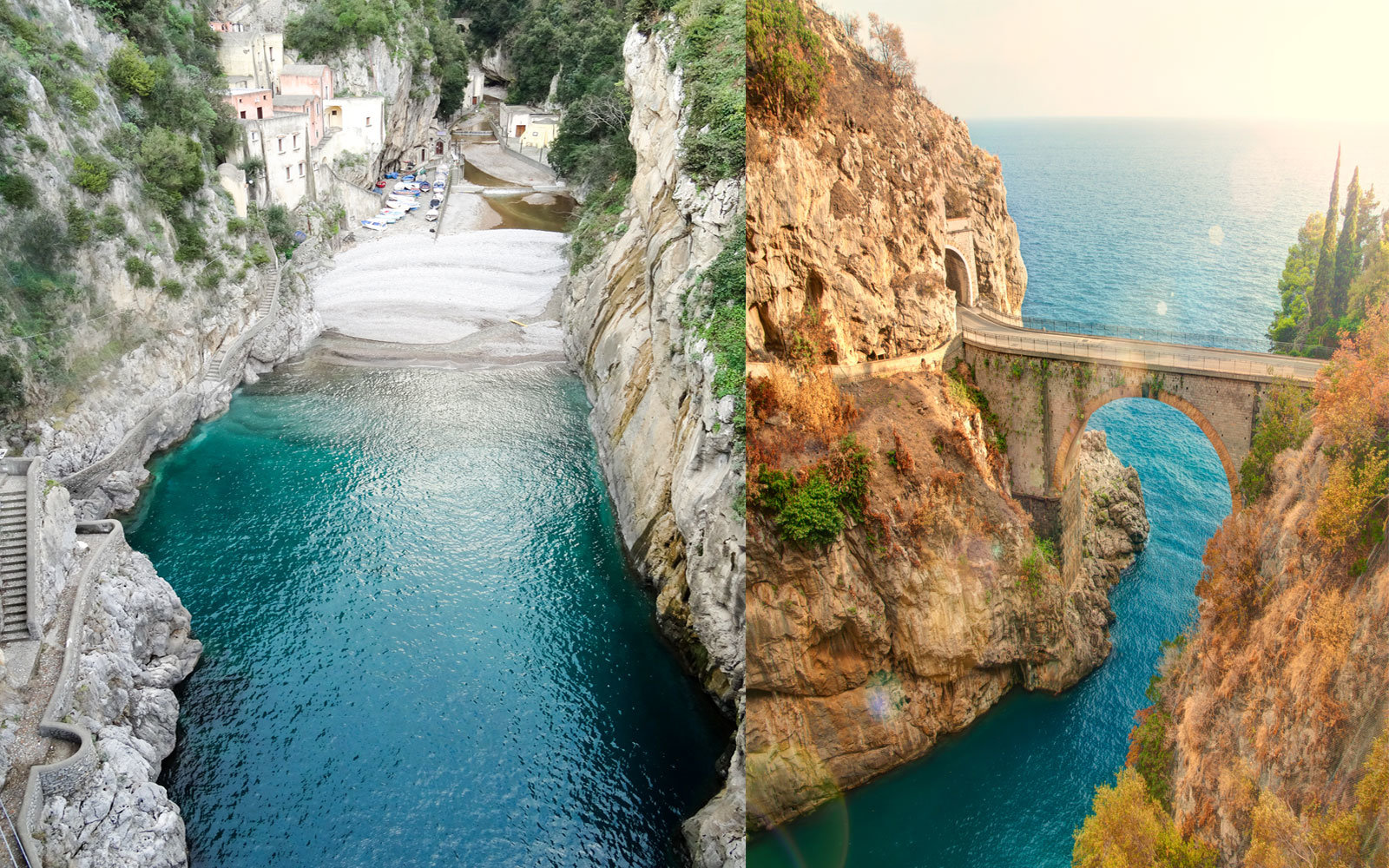 This Hidden Beach Tucked Behind a Fjord Is Italy's Best-kept Secret