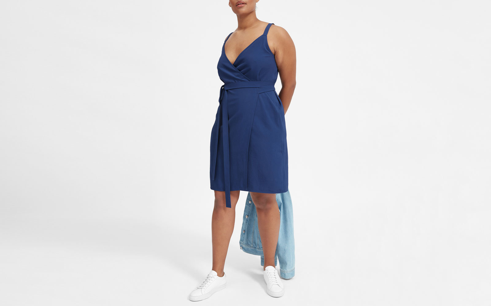 Everlane Tank Wrap Dress