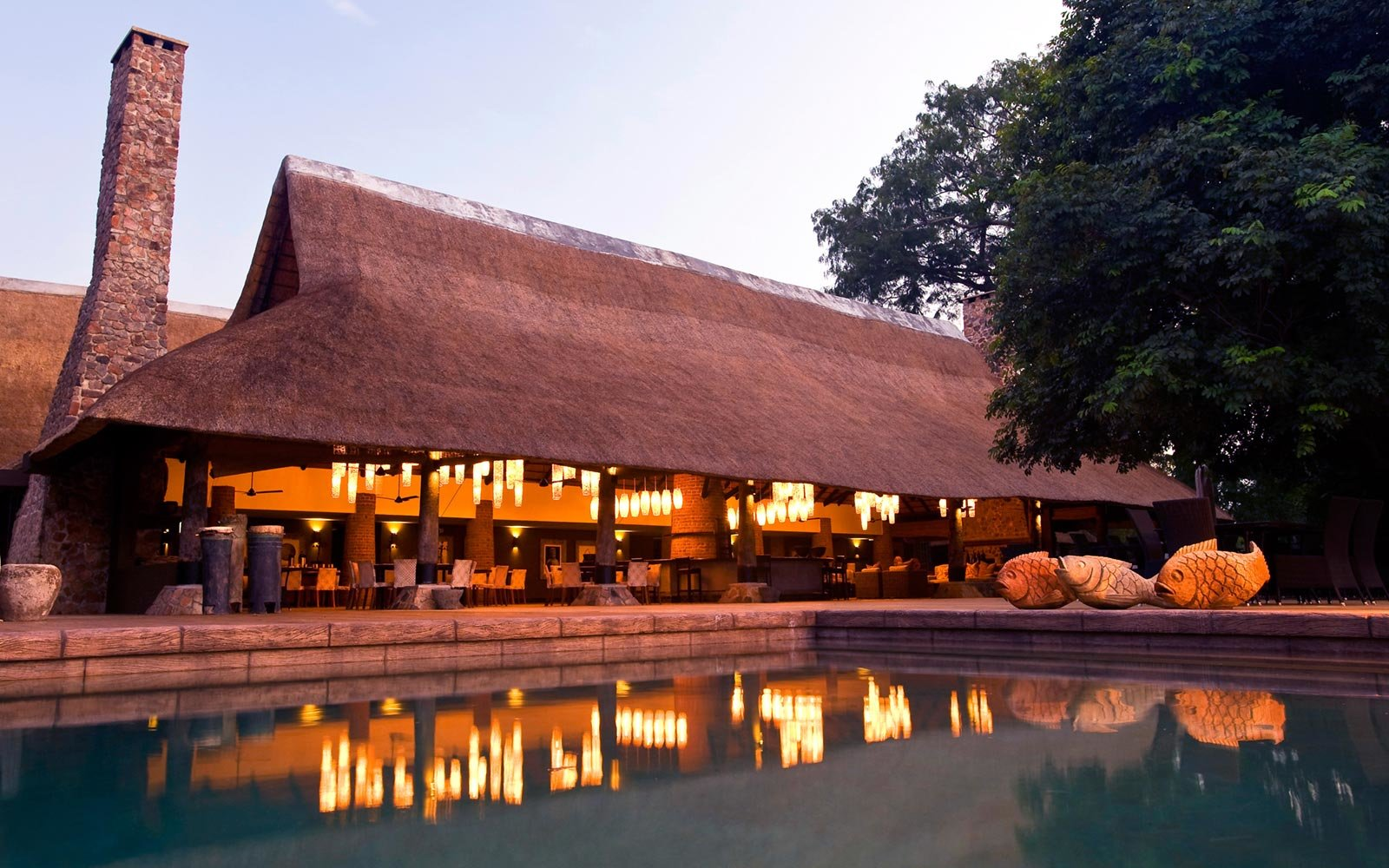 3. Mfuwe Lodge, South Luangwa National Park, Zambia