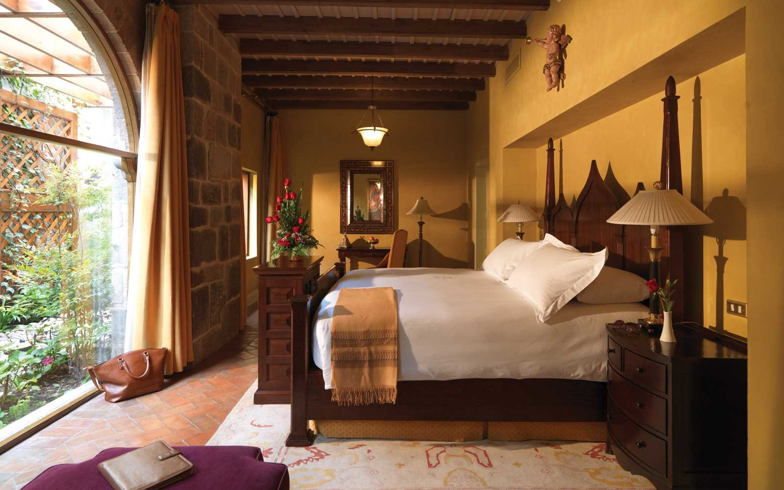 Room at the Belmond Hotel Monasterio