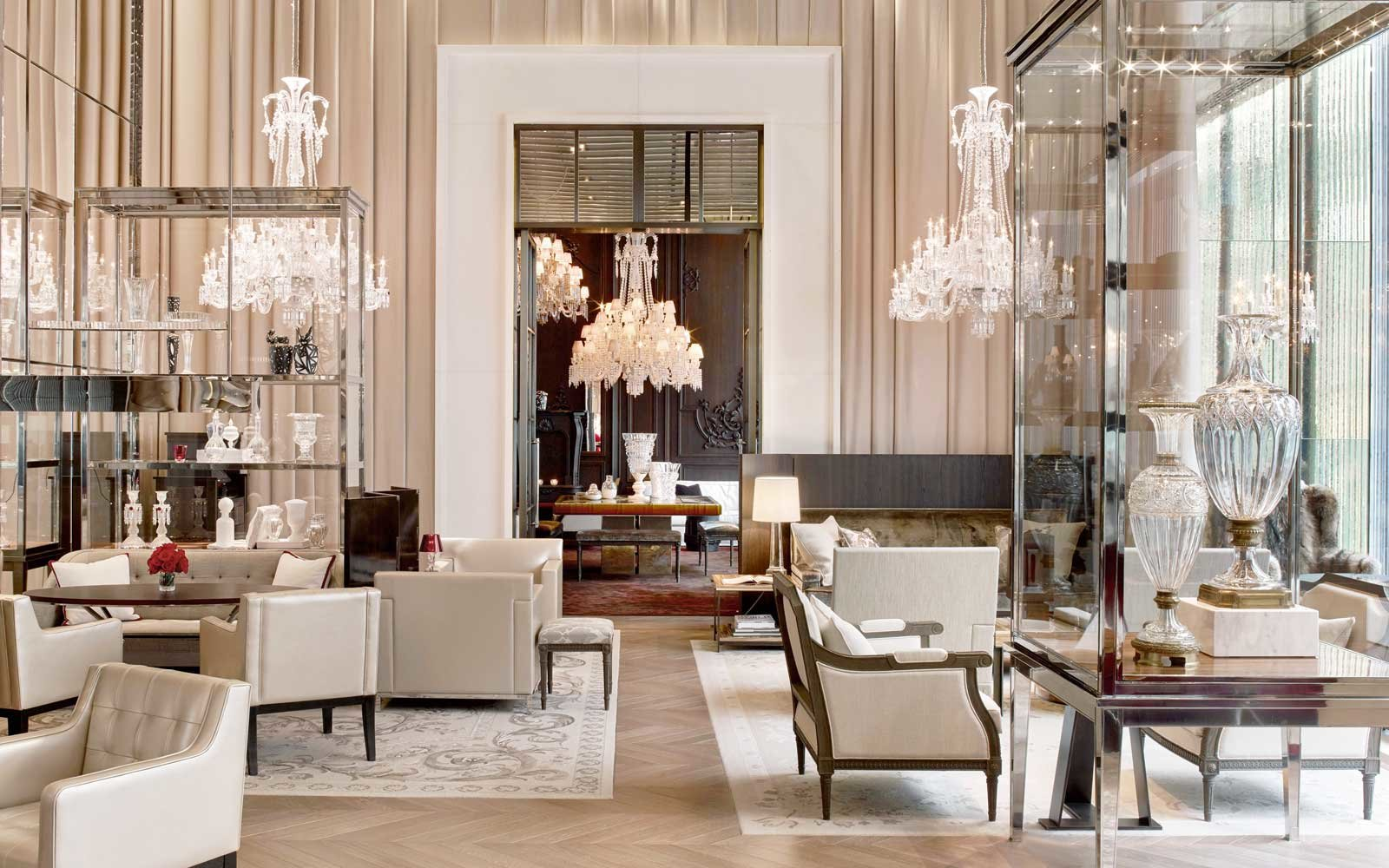 Grand salon of the Baccarat Hotel