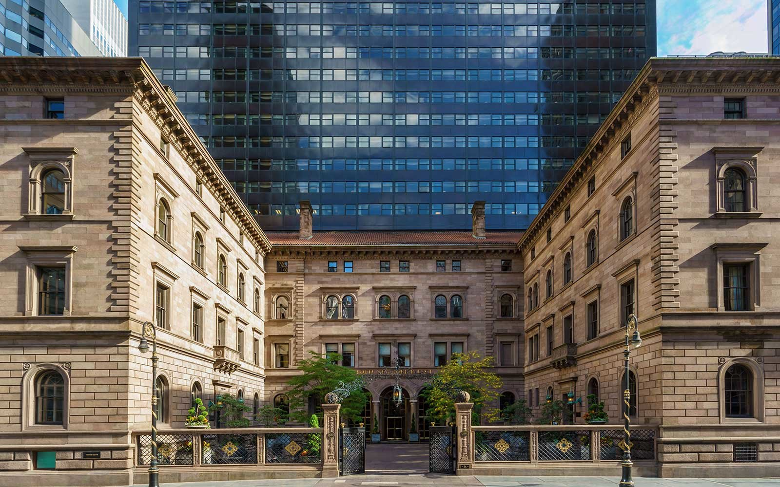 Exterior of the Lotte New York Palace