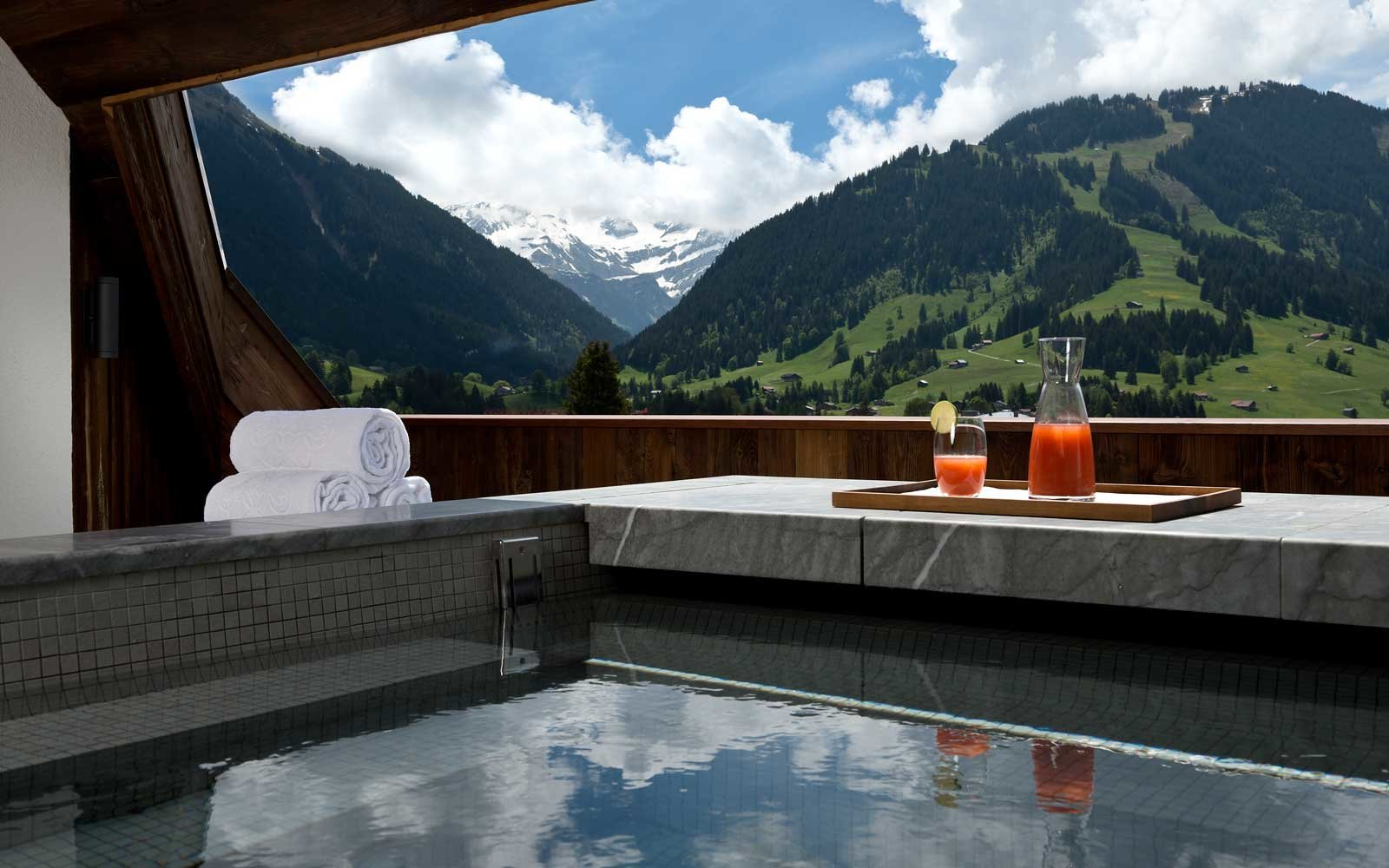 9.  The Alpina, Gstaad, Switzerland