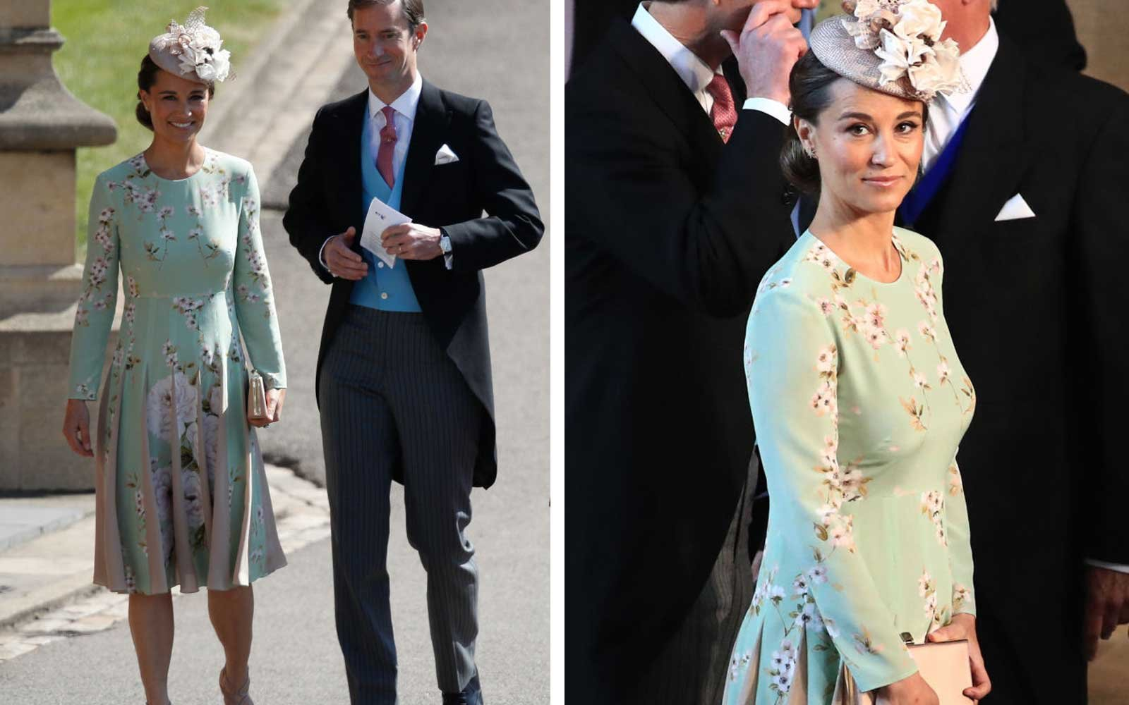 Pippa Middleton at the Royal Wedding